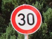 Stadtrat: Tempo 30: Unterschriften gesammelt