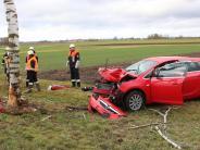 Fessenheim: Auto prallt gegen Baum