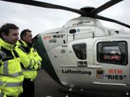 Ostalbkreis/Nördlingen: Rettungshubschrauber: Kaum Hoffnungen auf Standort in Württemberg