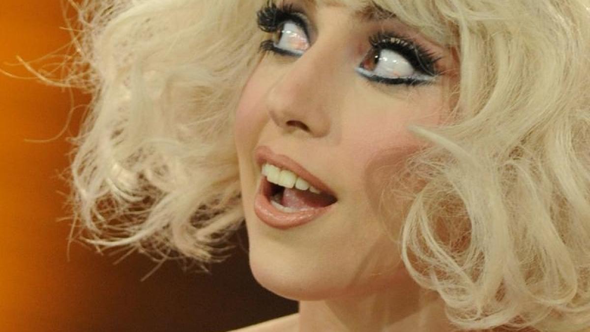 der Fotobeweis: Lady Gaga mit rasierter Muschi - Die