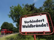 Bayern: Wetterdienst verhängt höchste Gefahrenstufe für Waldbrand