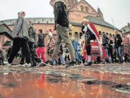 Karneval: Wie die Jecken dem Sturm an Rosenmontag trotzten