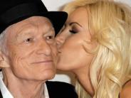 Bildergalerie: Happy Birthday, Hugh Hefner! Der Playboy-Gründer wird 90