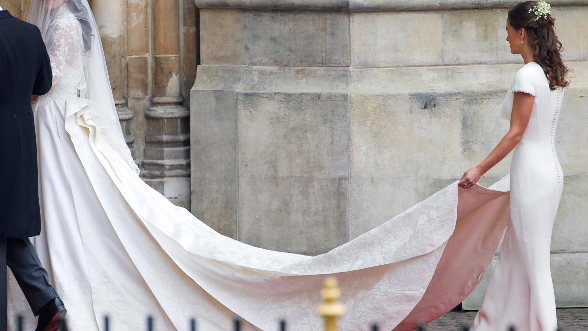 : George und Charlotte helfen bei Hochzeit von Tante Pippa Middleton ...