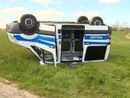 Kriminalität: Traktorfahrer schrottet absichtlich zehn Autos