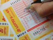 Lotto: Neun Millionen Euro: Lotto-Jackpot geht nach Bayern