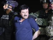 """Mexiko: Drogenboss """"El Chapo"""" Guzmán wird wohl bald in die USA ausgeliefert"""