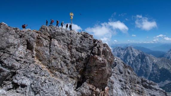 Zugspitze: Senior stürzt an der Zugspitze in den Tod