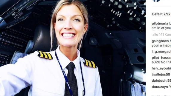 Maria Pettersson: Auf diese schwedische Pilotin fliegen alle
