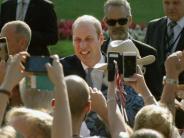 Düsseldorf: NRW wird 70 - und Prinz William feiert als Ehrengast mit