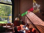Szene: «Friends»-Kultcafé in Warschau eröffnet