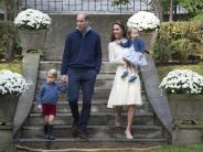 Royals in Kanada: Werbetour im Streichelzoo mit George und Charlotte