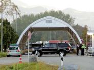 Sprengstoff-Alarm auf der A93: Polizei findet bei Grenzkontrolle Material für Rohrbomben
