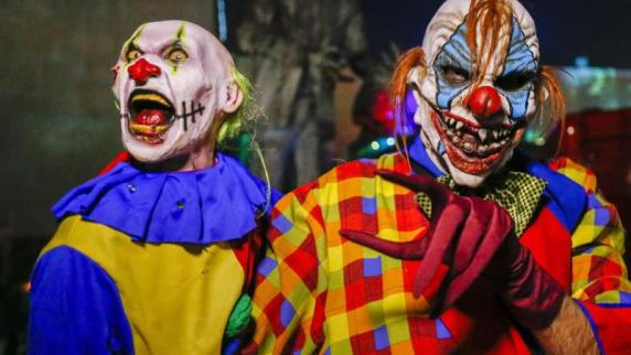 Wesel: Grusel-Clown bedroht Männer in Nordrhein-Westfalen