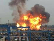 Leichte Sprache: In einer Firma gab es eine Explosion