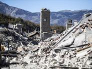 Mittelitalien: Regierung berät über Lage nach Erdbeben - Menschen verlassen Region