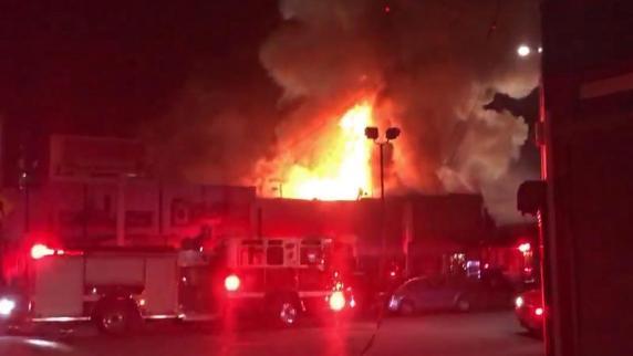 Kalifornien: Feuer bricht auf Party aus - Polizei befürchtet bis zu 40 Tote