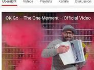 Internet-Phänomen: US-Band OK Go: Der Moment für die Ewigkeit dauert 42 Sekunden