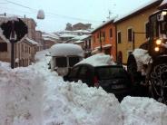Stärke bis zu 5,5: Erdbebenserie trifft Italien mitten im Schneechaos