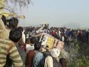 Zusammenstoß mit Lastwagen: Viele Schulkinder sterben bei Busunfall in Indien