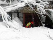 Erste Leichen geborgen: Riesen-Lawine tötet Hotelgäste in Italiens Erdbebenregion