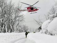 Italien: Mindestens sechs Überlebende aus verschüttetem Berghotel gerettet