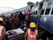 Unglücksursache unklar: Dutzende Tote bei Zugunglück in Südindien