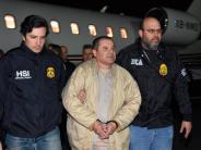 Prozess inNew York: Endstation USA: Drogenbaron «El Chapo» droht lebenslang