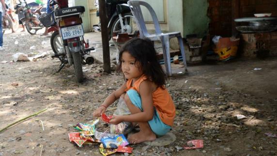 Millionen Kinder sterben jedes Jahr durch Dreck und Hygienemangel