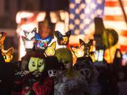 Morgestraich!: Basler Fasnacht beginnt mit Laternen und Trommlern
