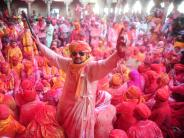 Millionen Hindus feiern: Holi-Fest: Heute wird Indien noch bunter