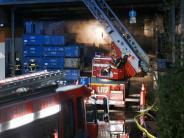 Giftiger Rauch: Großbrand bei Autozulieferer verletzt acht Menschen