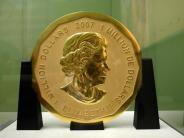 Leichte Sprache: Riesige Gold-Münze aus Museum gestohlen