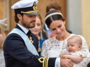 Schwedische Royals: PrinzAlexander wird eins
