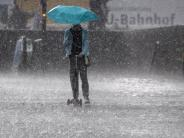 Regionalzug entgleist: Unwetter vor allem in Bayern und Thüringen