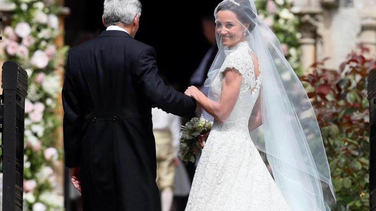 Hochzeit: Mit ihrem Brautkleid hat Pippa Middleton alles richtig ...