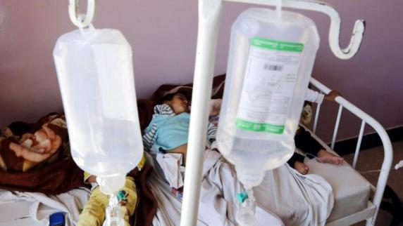 Laut WHO 100.000 Cholera-Fälle