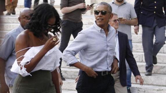 Obamas kaufen Haus in Washington für 8,1 Millionen Dollar