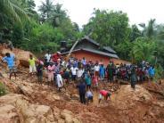 Nach Dauerregen: Mehr als 90 Tote nach Erdrutschen in Sri Lanka