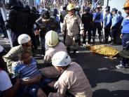 Vor Fußballstadion: Tote bei Massenpanik in Honduras