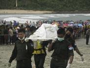 122 Menschen an Bord: Flugabsturz in Myanmar: Kaum Hoffnung auf Überlebende