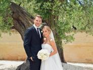 Fußballer: Jawort in Monopoli: Die Hochzeit von Manuel und Nina Neuer