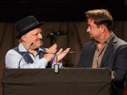 Lustiges Duo: «Das Goldene Schlitzohr» für Liefers und Prahl