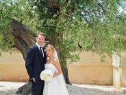 Ja-Wort in der Kirche: Manuel und Nina Neuer heiraten in Apulien