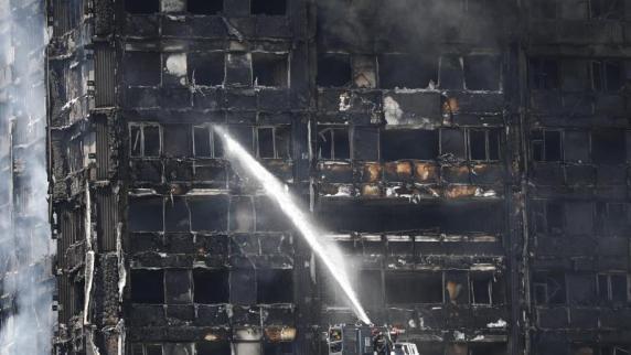 Brandschutz im Londoner Grenfell Tower in der Kritik