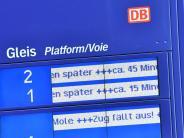 Bahn: Bahnreisende müssen auf ihre Entschädigungen warten