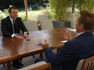 Treffen in Paris: Schwarzenegger und Macron sprechen über Umweltschutz