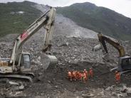 Naturkatastrophe: Kaum noch Hoffnung für Verschüttete nach Erdrutsch in China