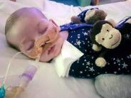 Großbritannien: Eltern geben juristischen Streit um todkrankes Baby Charlie auf