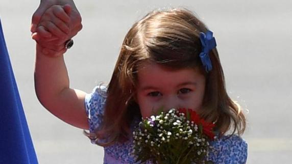 Prinzessin Charlottes erster Tag im Kindergarten